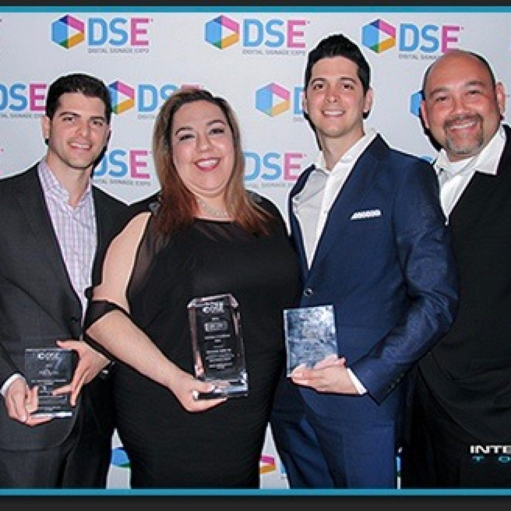 digital signage awards