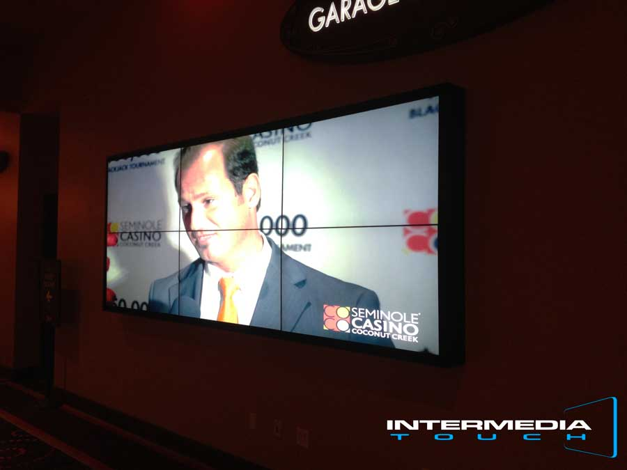 Intermedia Touch Unveils Super High Def Video Wall at