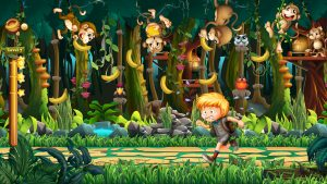 Animations Monkey games