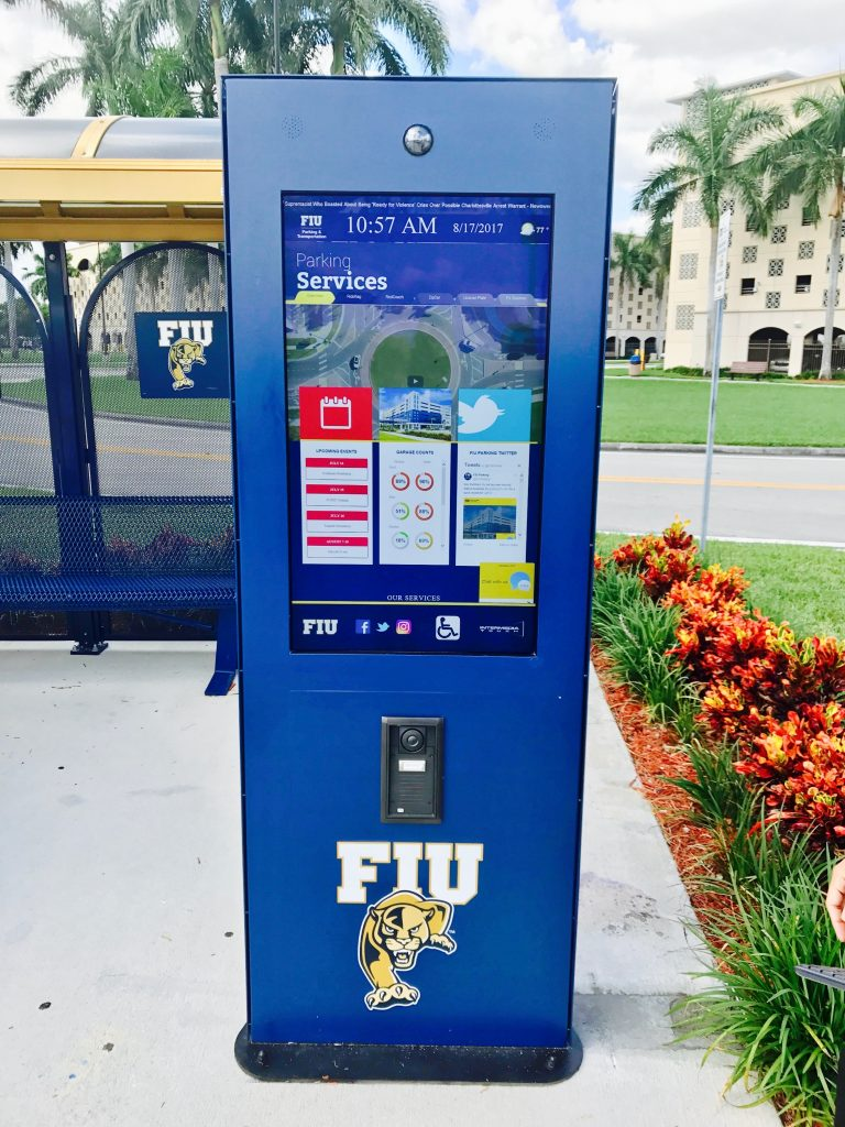Outdoor Interactive Kiosk