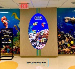 Interactive Aquarium Experience