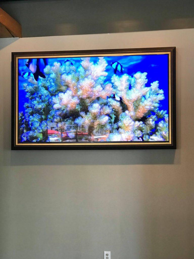 "55"" Custom Digital Display at Tarpon Bend, Coral Gables."