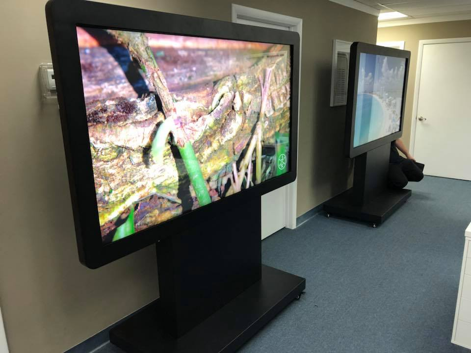 "70"" Displays from Intermedia Touch"