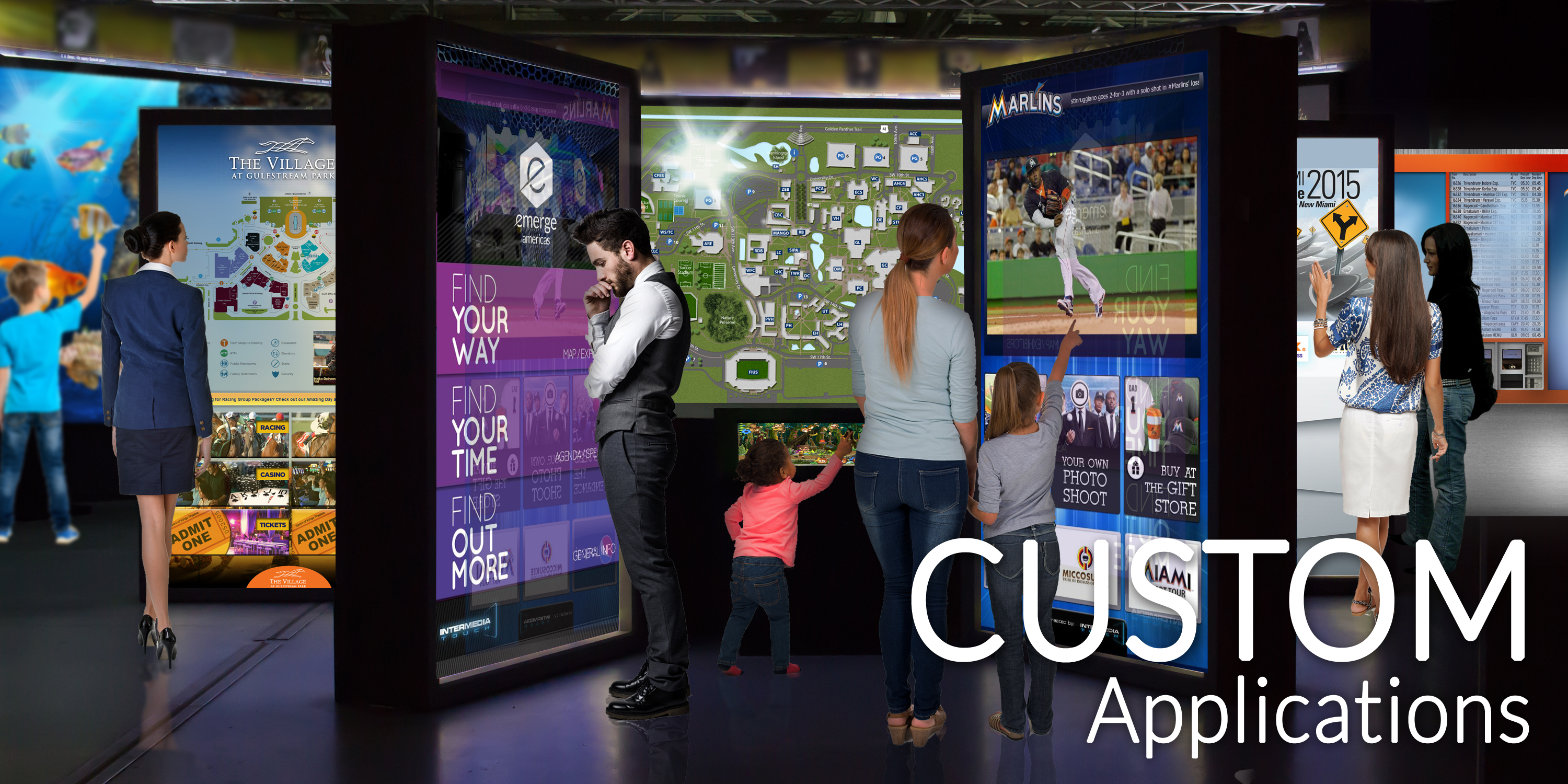 Custom-Applications from Intermedia Touch